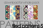 Pattern Set 5 by Pinkly-Icons