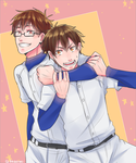 Ace of Diamond: Catcher and Pitcher by KageNao