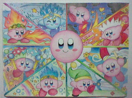 Kirby's Many Copy Abilities by Plucky-Nova