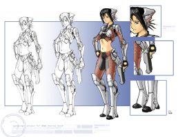 Female GS concept by Galiford