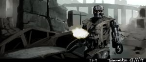 Speedpainting - Terminator by ThomasRome