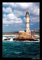 Lighthouse in Chania by yonashek