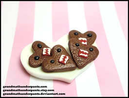 Domo-kun Cookies by GrandmaThunderpants