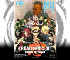 Road to Ninja - NARUTO THE MOVIE! (Better version) by TheUZUMAKIchan
