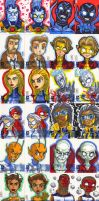 DC New 52 Sketch Cards Grp 2 by lordmesa