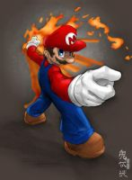 Mario -gts- colored by Qsec