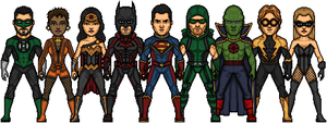 Justice League by Joker-Rules