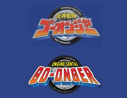 Engine Sentai Go-Onger Romanized Logo by TRice01