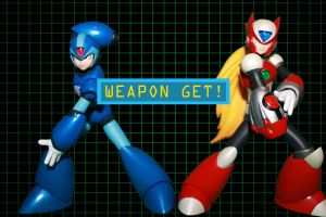 X and Zero: Weapon GET! by Reploid-Assassin