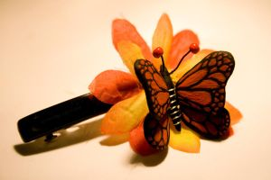 - Butterfly Hairclip - by IskaDesign