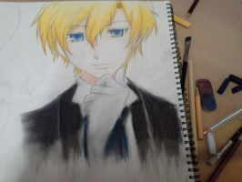 Tamaki from Host Club by SaraDesigner