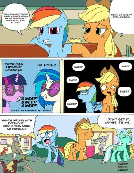 MLP Comic 51: New Hit by Average-00