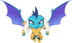 Vector #498 - Princess Ember #3 by DashieSparkle