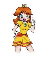 Vocaloid Princess Daisy by Mako-chan89