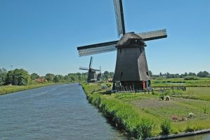 Windmills near Alkmaar_001 by BlokkStox