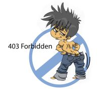 403 Forbidden - Sketch by Sunny-X-Ray