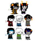 Homestuck Fantrolls/Fankids Adoptables 2 -CLOSED- by St3amPunk