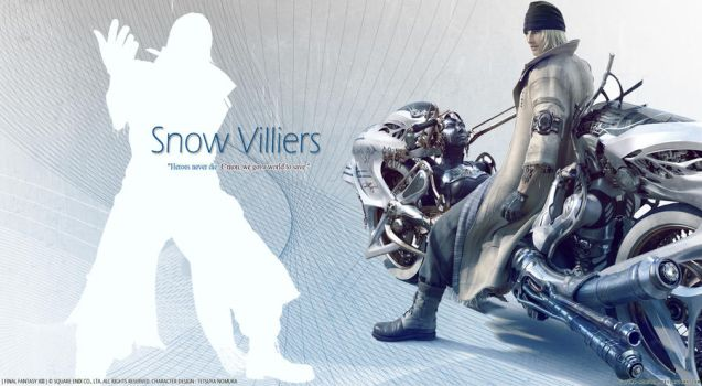 Snow Villiers_Metallic Series by Ultima-Memoria