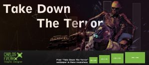 Take Down The Terror Wallpaper by stand87
