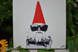 Hipster Gnome by shiskebob