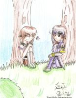Just Chilling+ToV OCs+ by Shadowsluver