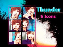 Thunder Icons by XxMiss-MirxX