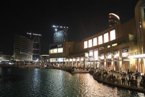 Outside Dubai Mall by mailtoejas