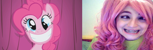 Pinkie pie cosplay - funny face by TrueMarty