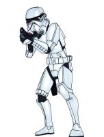 Imperial Storm Trooper by Spartan-055