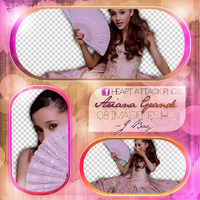 +PNG// Ariana Grande~ Right There by PacksHQ
