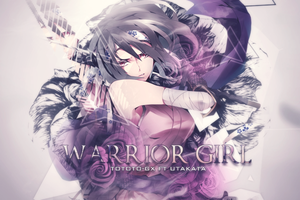 Warrior Girl by Totoro-GX