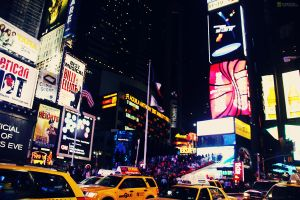 Times Square, New York City by ryanDUFFIN
