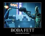 Boba Fett Doesn't Want To Be Cloned by Onikage108