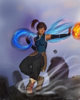 Korra. by Renavie