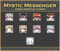 Mystic Messenger | Free icons by BluAjisai