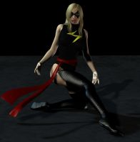 Ms Marvel Poses by LordSnot