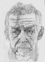 John Hurt - Doctor Who - The War Doctor (2) by davrosuk