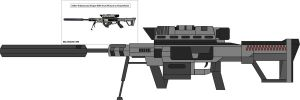 Zeller-H sniper rifle PP Art by McCoys-Man-Krisps