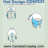 Dragon Hat Design Contest by Jakethecat