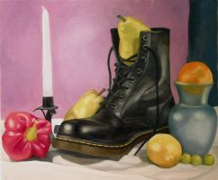 Fruit and a Boot by Bluerose1324