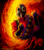 TF2: The Pyro by ky-nim