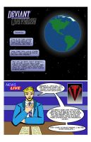 Deviant Universe Page 1 by mja42x
