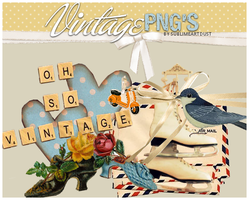 VINTAGE STUFF PNG by SublimeArtDusT