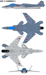 ASF-X Shinden II by bagera3005