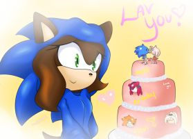 GIFT: ~+HAPPY BIRTHDAY+~ by SonicForTheWin2