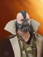 Me artist, you Bane by Charle-magne