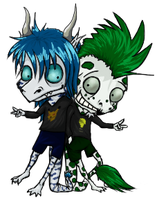 Chibi two by Svetoch-the-Veris