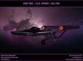 STAR TREK - USS DEFIANT by ulimann644