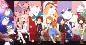 Mawaru Penguindrum - Bookmarks by Akimiya