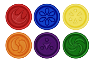 Sage Medallions by blackmoonrose13